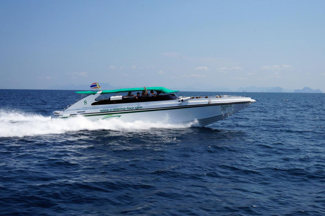 Full-Day Phi Phi Island Tour By Speed Boat