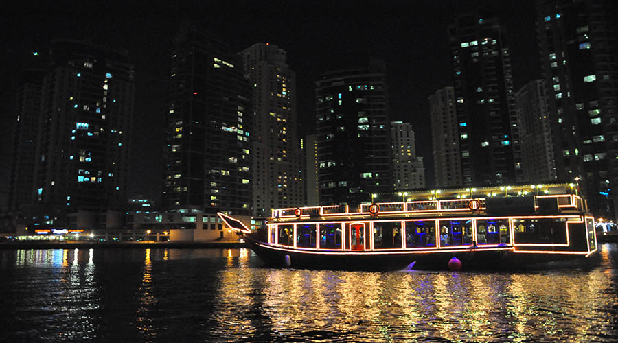 Dhow Cruise Dinner - Marina